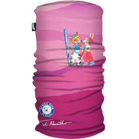 HAD Printed Fleece Loop Sjaal Kinderen, roze